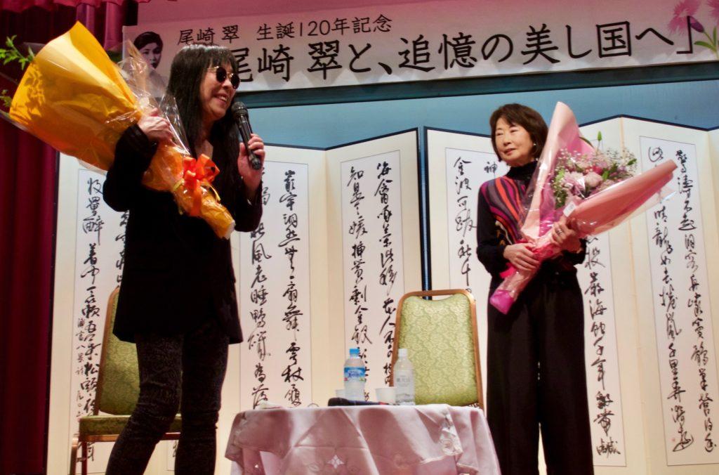この後、『第七官界彷徨ー尾崎翠を探して』新編集版が上映され、中央公民館での第一部は終わった。